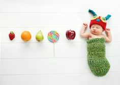 Adorable Hungry Caterpillar inspired crochet by PicklesAndKisses, $36.00