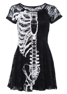 Iron Fist Wishbone Lace Dress, £58.99