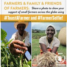 Neat Way to Celebrate WorldFoodDay - Share a photo that shows your support for local farmers. Don't forget to also support your local food bank! http://www.ourcommunityfoodbank.org/