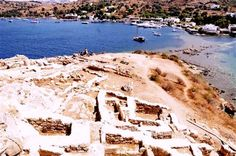 The ancient Greek city of Myndos is set to become a new major tourist attraction in Turkey's western province of Mugla, with excavation works ongoing.   Myndos found in Bodrum district of Mugla was unearthed on the Tavsan (Rabbit) Island and the excavations have lasted for four years in the area [Credit: DHA[