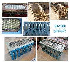 glass door pallettable Glass Door, Recycling, Doors, Bricolage, Glass Doors, Upcycle, Gate
