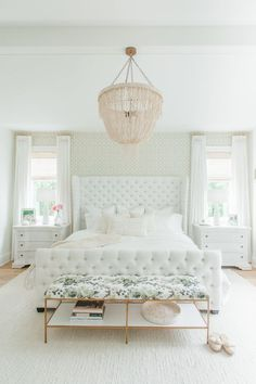The Dreamiest White Bedroom You Will Ever Meet | Pinterest | Blush ...