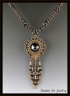 Beaded Crystal Necklace | Susan | Flickr