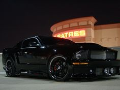 If Batman owned a mustang...