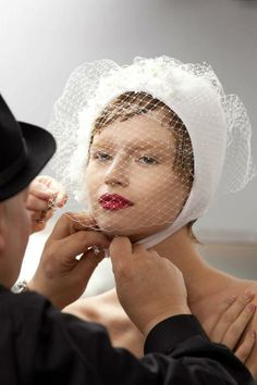 ab9ec4704e6 Backstage at Christian Dior Spring Summer 2013 Couture during Paris Fashion  Week. Stephen JonesCouture ...