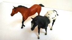 Vintage Breyer Horse Pair of Little Bits by TazamarazVintage