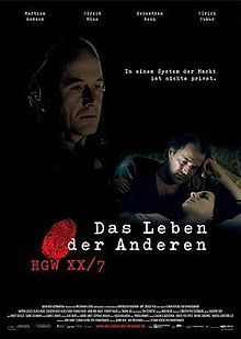 The Lives of Others...really a great film...must see...very entertaining...easier to watch if you actually speak german...which I don't