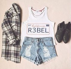 Daily New Fashion : Gorgeous Teenage Outfits