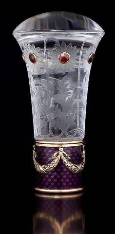 Decorative Vases | Фаберже. Горный хрусталь, золото ...