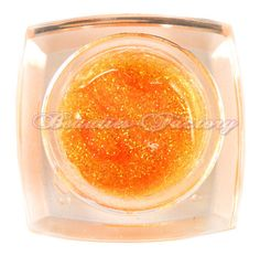 Orange Glitter UV Gel