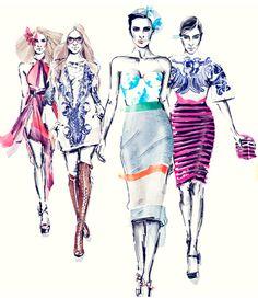 The Ten Best Fashion Illustration Blogs