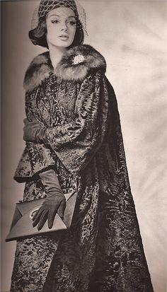 Femme Chic Fur  1962  Marcel Georges
