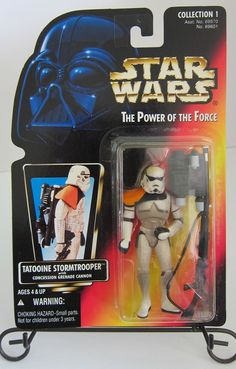 Star Wars The Power of the Force Tatooine Stormtrooper Action Figure Kenner 1996