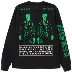 Cav Empt - Noiseman Long Sleeve T
