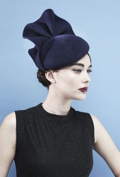 Gina Foster Millinery #millinery #hats I wish I had an event coming up where this hat would be appropriate.
