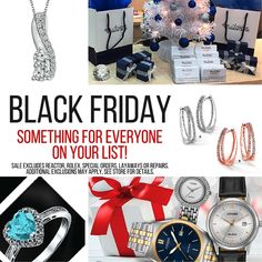 Don't forget – we have something for everyone on your list! Drop in for #BlackFriday specials!