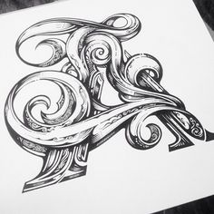 Incredible detail. Type by @vicleelondon | #typegang if you would like to be…