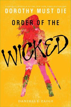 #CoverReveal: Order of the Wicked - Danielle Paige