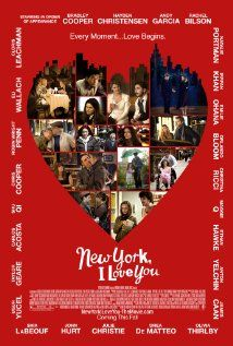 New York, I Love You - most of my favorite actors in this film and it's an great indie! Must watch! (Blake Lively, Bradley Cooper, Andy Garcia, Natalie Portman, Orlando Bloom, Christina Ricci, Maggie Q, Ethan Hawke!) Love love love!