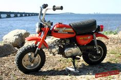 Le Honda Monkey Z50 Mini-Trail de Ed