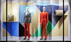 "HUGO BOSS, Paris, France, ""Color Up Your Life"", pinned by Ton van der Veer"