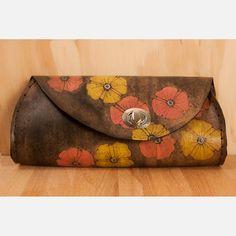 Poppy Garden Clutch now featured on Fab.