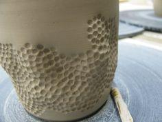Pencil eraser texture