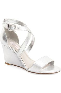 Glint 'Mallory' Wedge Sandal (Women) available at #Nordstrom