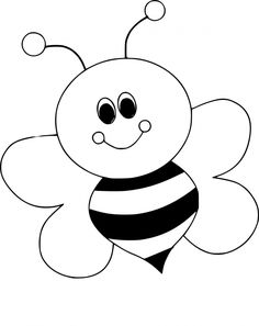 arı boyama sayfaları Arı boyama sayfası, Bee coloring page, Dibujo de abeja, Раскрашивание. Art Drawings For Kids, Drawing For Kids, Easy Drawings, Bee Drawing, Bee Crafts, Preschool Crafts, Preschool Printables, Free Preschool, Preschool Ideas