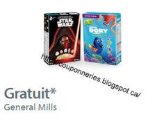Coupons et Circulaires: B1G1 : Céréale Disney Pixar ou Star Wars avec acha...