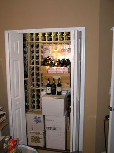 wine closet, cleaning tips, storage ideas, Wine Closet