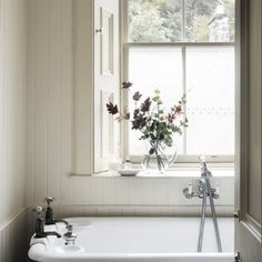 Bathroom in a country home on the Island of Mull in Scotland