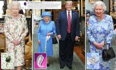Did the Queen 'troll Trump' with her BROOCHES?
