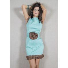 Vestido Kahyra azul claro