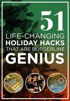 51 Life-Saving Holiday Hacks That Are Borderline Genius
