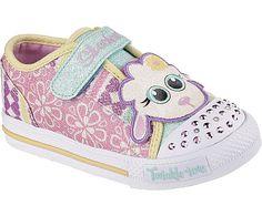 7971aabd3179f Skechers Skechers Twinkle Toes  Shuffles - Critter Buds Sneaker Zapatos