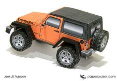 Jeep JK Rubicon | papercruiser.com