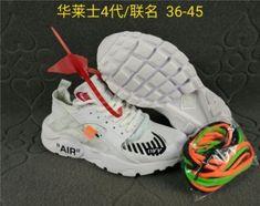 dd6495f36651 Mens Womens Shoes Nike Air Huarache Ultra Run Off White Triple Whtie Black  Nike Air Huarache