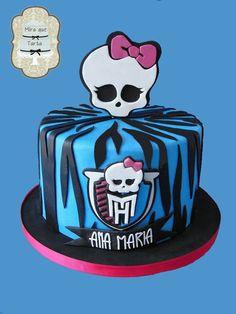 MIRA QUE TARTA MONSTER HIGH CAKE