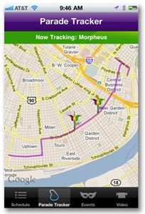 Custom mobile app offers guide to Mardi Gras events