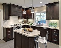 Feel Airy With Properly Kitchen Layout Ideas: L-shape-kitchen-layout-ideas--corner-wall-cabinet-kitchen-layout-ideas- – xtrainradio