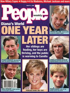 AUGUST 1998    On the anniversary of their mother's death, Charles & Camilla have moved forward in their relationship, changing the law to enable their upcoming marriage.