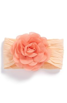 Chiffon Rose Headband (Baby Girls)