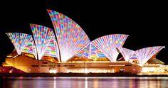 Sydney at Night 7-6-11 (16): Vivid Sydney 2011 by Flickr user Peebs66
