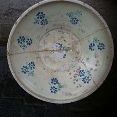 Antike Bauernkeramik - 18.03.2017 14:46:00 - 1 Plates, Tableware, Antique Pottery, Kunst, Tablewares, Licence Plates, Dishes, Dinnerware, Griddles