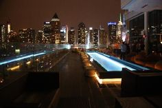 Ink48 - a Kimpton Hotel: View from the roof top bar