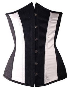 Tight size corset black with lace and white Wedding Corset, Claire, Tights, Shopping, Black, Navy Tights, Black People, Panty Hose, Pantyhose Legs