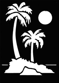 Robot Check Face Painting Stencils Tree Stencil Palm Tree Pictures