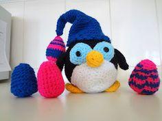 Pinguim de Páscoa (Easter penguin!)