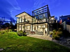 http://bestdesignprojects.com/glass-house-by-maria-gigney/#.UTfQL4W2Q_Q @bestdesignprojects #residential #house